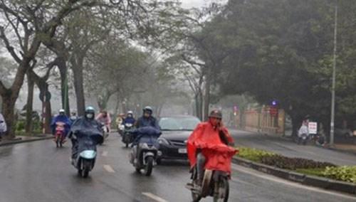 Bắc Bộ tiếp tục mưa giông kéo dài