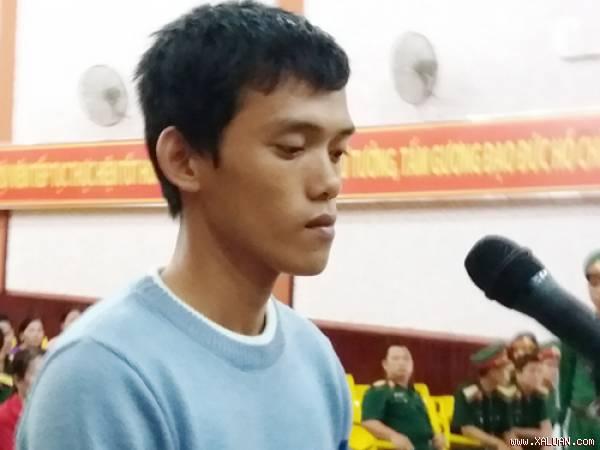 rịnh Tấn Vinh tại phiên xử lưu động ở Phú Quốc.