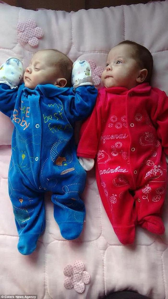 2 thiên thần nhỏ ra đời trong sự kì diệu