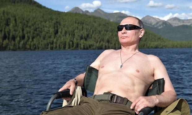 Ảnh cởi trần của tổng thống Putin