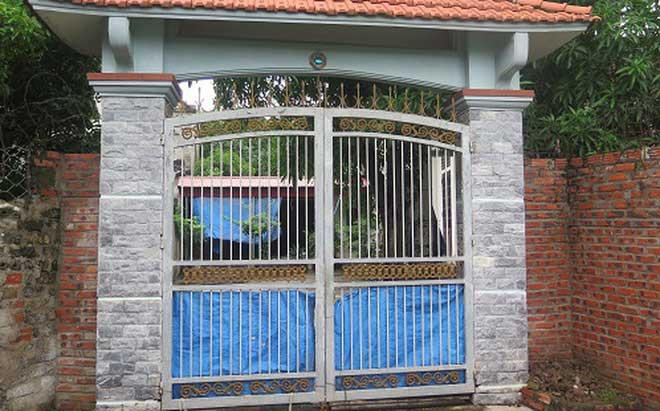 Kể từ ngày xảy ra sự việc ngôi nhà của ông Hùng không hề mở cửa