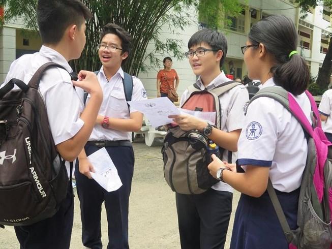Tp.HCM công bố chính thức điểm thi vào lớp 10