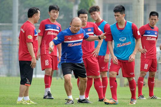 Các cầu thủ Việt Nam còn thiếu niềm tin điều này khiến họ luôn tự ti