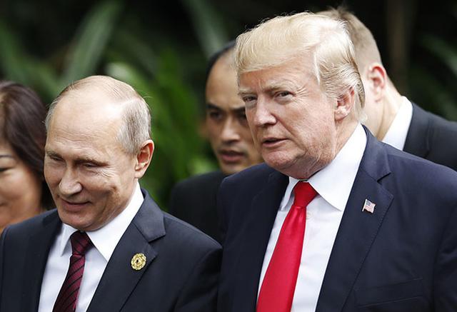 Tổng thống Nga và Mỹ