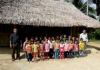Nhiều điểm trường phải lợp lá cọ tịa huyện vùng cao Thanh Hóa