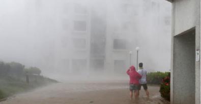 Siêu bão mangkhut đổ bộ tàn phá hong kong và các tỉnh phía nam Trung Quốc