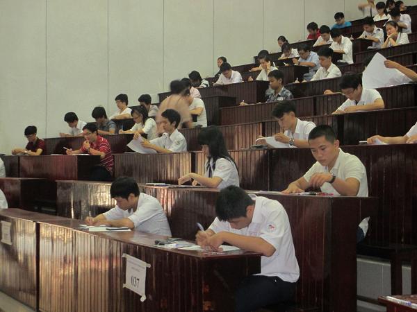 Sinh viên nông lâm bị đình chỉ do vi phạm quy chế thi