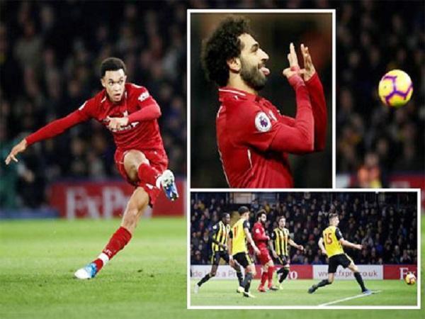 Siêu sao Liverpool ghi bàn từ bóng chết