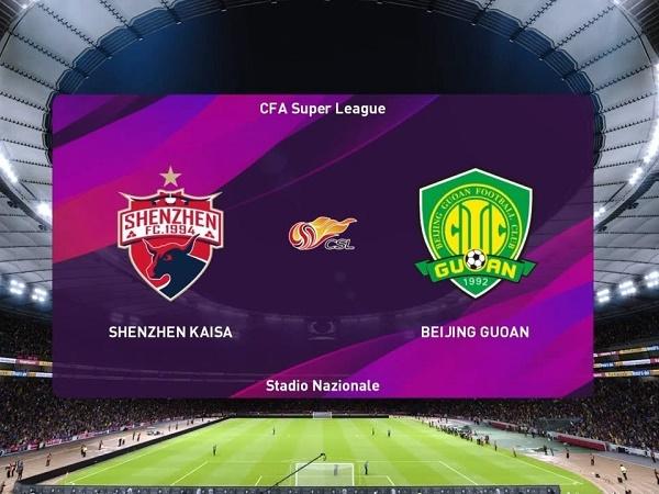 Link Sopcast Shenzhen vs Beijing Guoan, 18h35 ngày 13/09