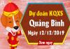 Thống kê kqxs quảng bình ngày 12/12 chuẩn 100%