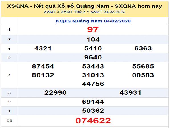 Nhận định kqxs quảng nam ngày 02/11 tỷ lệ trúng cao