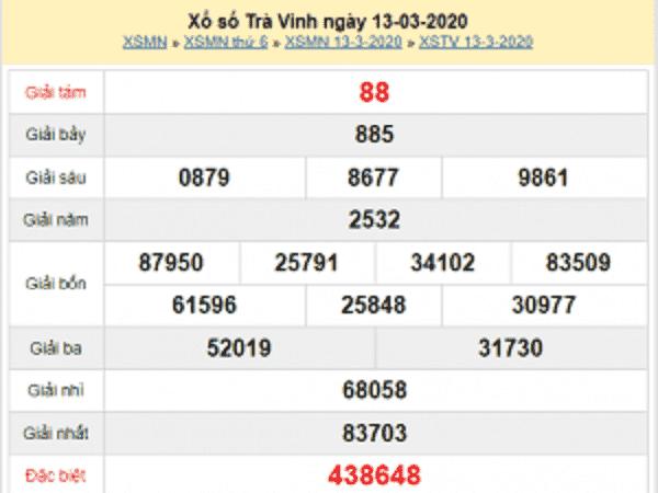 KQXS trà vinh nhận định kqxs hôm nay ngày 20/03