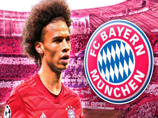Bayern rất muốn có sự phục vụ của Sane