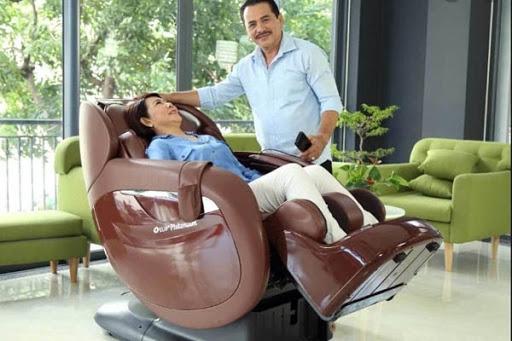Thư giãn toàn thân cùng ghế massage