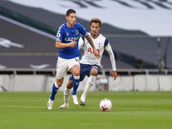 Tin bóng đá chiều 14/9: James cùng đồng đội đánh bại Tottenham