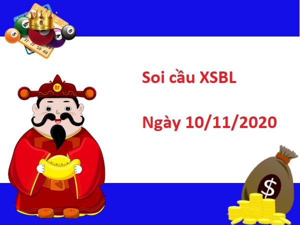 Soi cầu XSBL 10/11/2020
