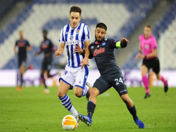 Nhận định tỷ lệ Napoli vs Sociedad, 00h55 ngày 11/12 - Europa League