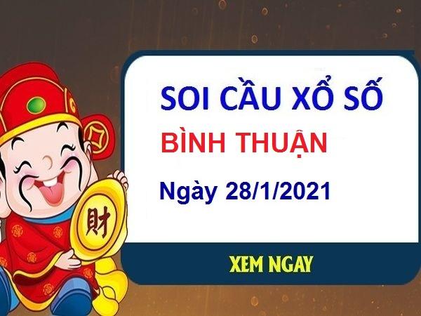 Soi cầu XSBT ngày 28/1/2021
