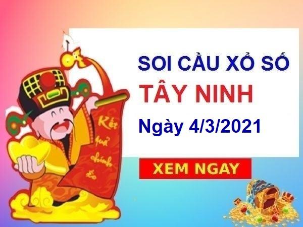 Soi cầu XSTN ngày 4/3/2021