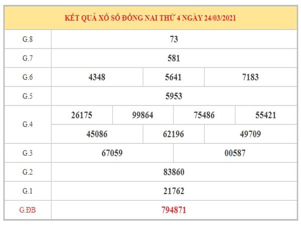 Nhận định KQXSDN ngày 30/3/2021 dựa trên kết quả kì trước