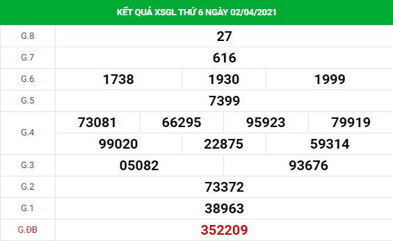 Dự đoán kết quả XS Gia Lai Vip ngày 09/04/2021