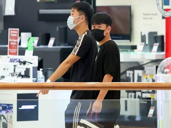 Bóng đá VN 2/6: Tuyển thủ Việt Nam tranh thủ shopping tại Dubai