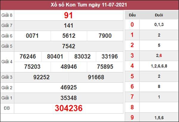 Nhận định KQXS Kon Tum 18/7/2021 xác suất lô về cao nhất