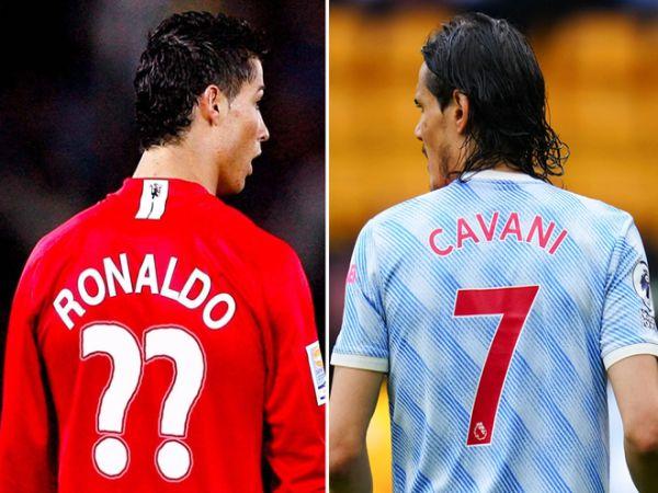 Bóng đá QT trưa 1/9: Ronaldo không được Cavani nhường lại áo số 7