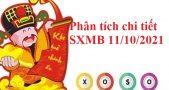 Phân tích chi tiết SXMB 11/10/2021